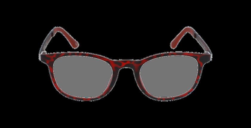 Gafas graduadas hombre MAGIC 20 rojo/carey - vista de frente