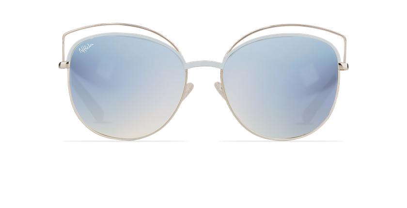 Gafas de sol mujer BETTY azul/dorado - vista de frente