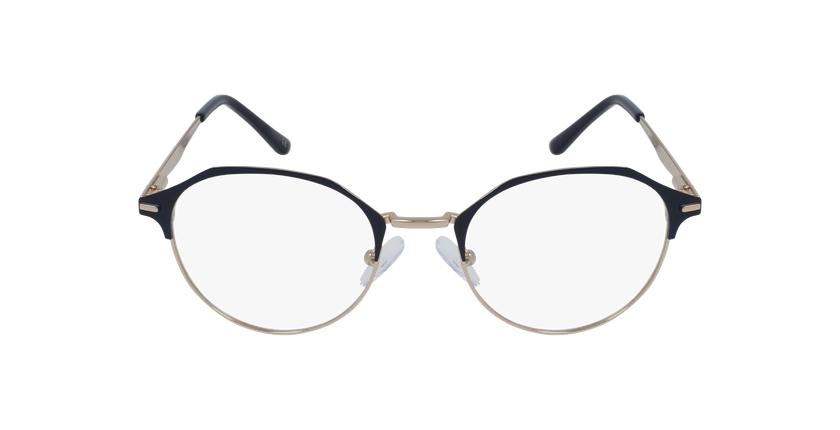 Gafas graduadas mujer OAF20524 azul/dorado - vista de frente