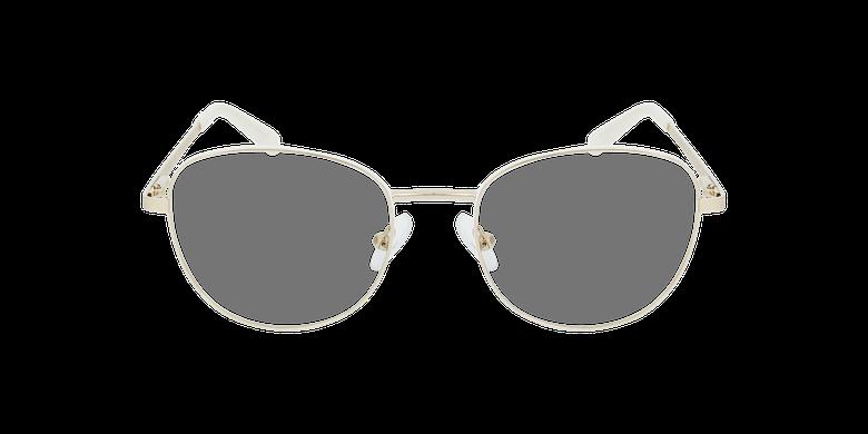 Gafas graduadas mujer LISSOU blanco/dorado