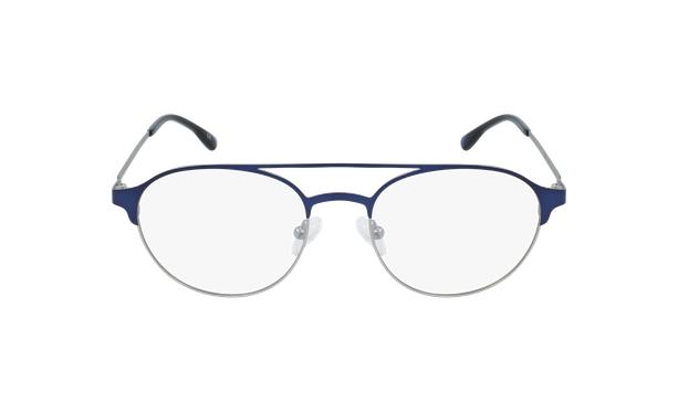 Gafas graduadas hombre MAGIC 52 BLUEBLOCK azul/plateado - vista de frente