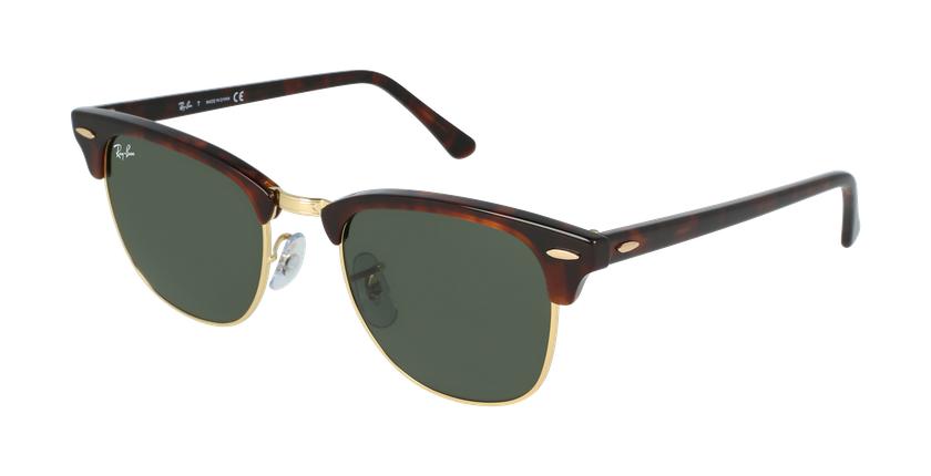 Gafas de sol CLUBMASTER marrón/carey - vue de 3/4
