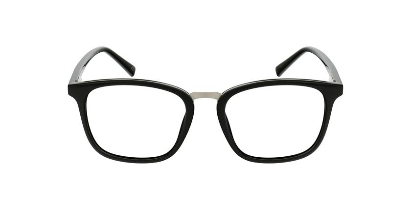 Gafas graduadas hombre OAH21613 negro/plateado - vista de frente