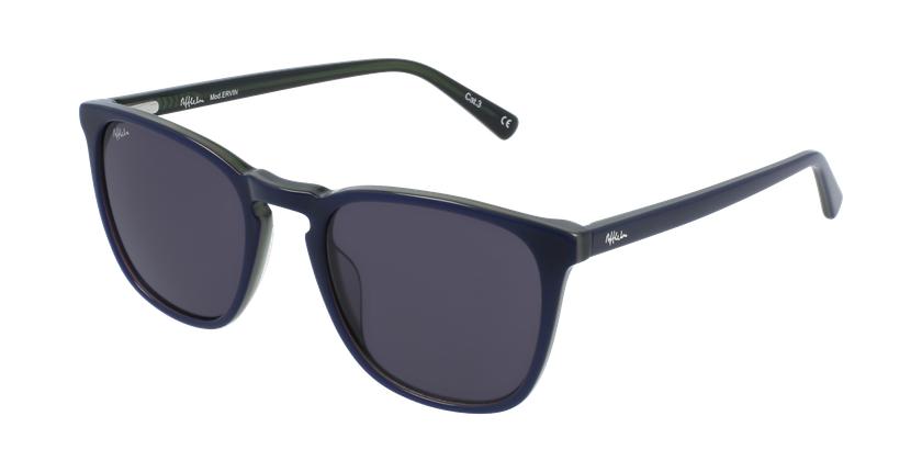 Gafas de sol hombre ERVIN azul - vue de 3/4