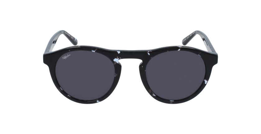 Gafas de sol hombre ANTHONIN negro - vista de frente