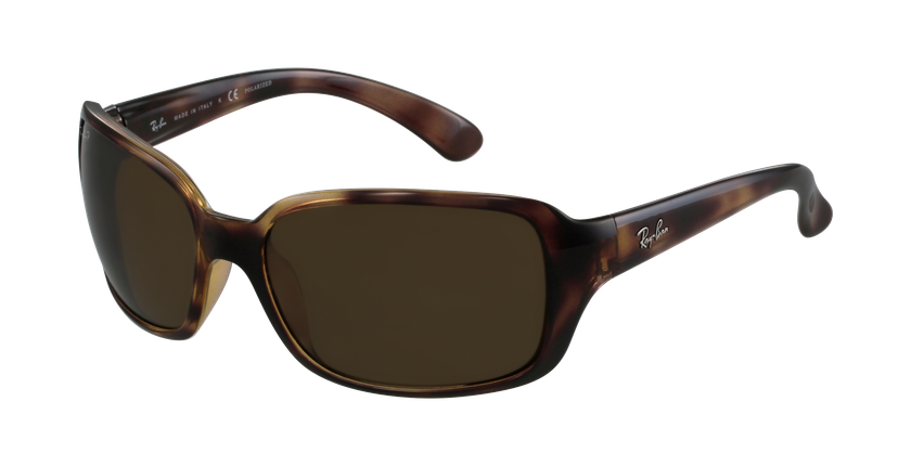 Gafas de sol mujer 0RB4068 marrón/carey - vue de 3/4