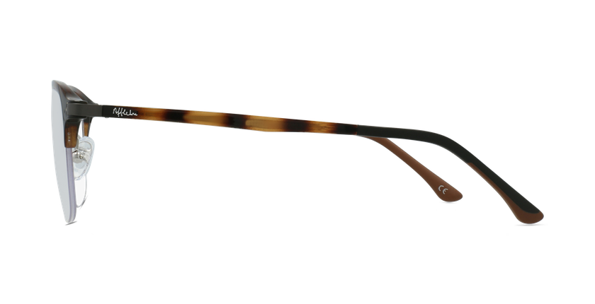 Gafas graduadas hombre MAGIC 57 BLUEBLOCK carey - vista de lado