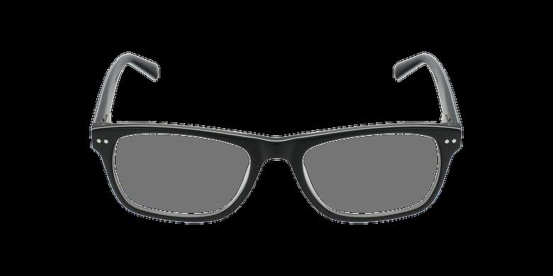 Gafas graduadas niños TED negro/blancovista de frente