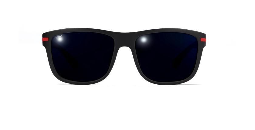 Gafas de sol hombre DIEGO negro - vista de frente