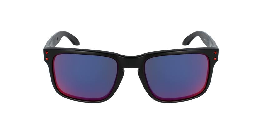 Gafas de sol hombre HOLBROOK rojo/negro - vista de frente
