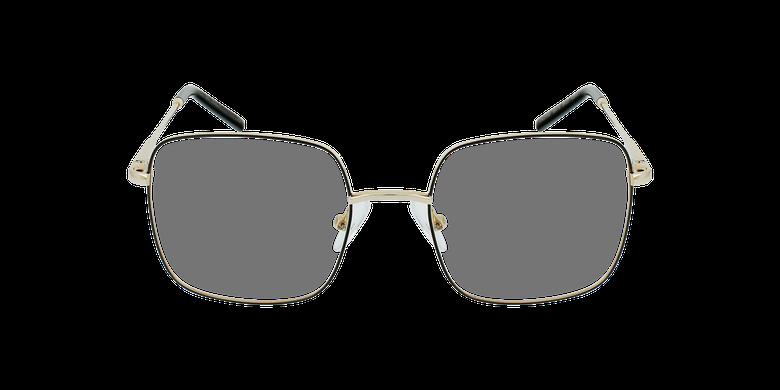 Gafas graduadas niños STELLA negro/doradovista de frente