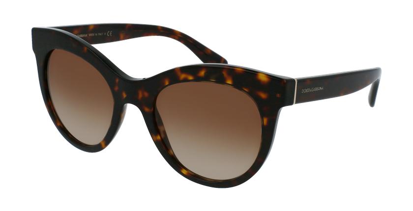 Gafas de sol mujer 0DG4311 marrón - vue de 3/4