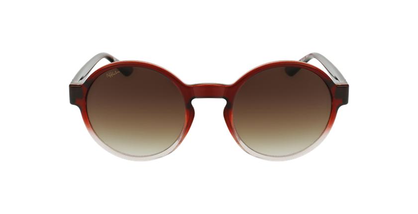 Gafas de sol mujer CHACHA rojo - vista de frente