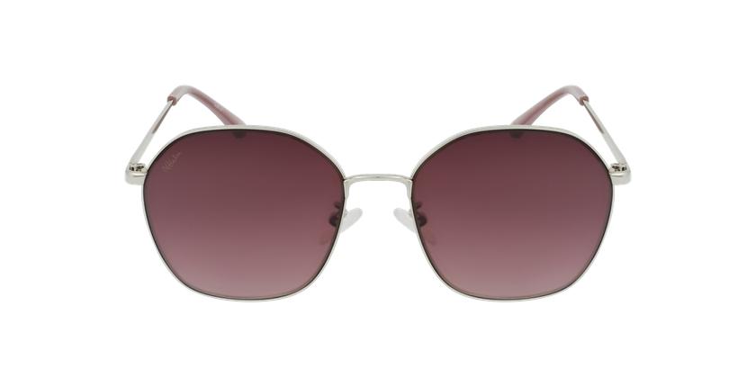 Gafas de sol mujer GUALTA plateado - vista de frente