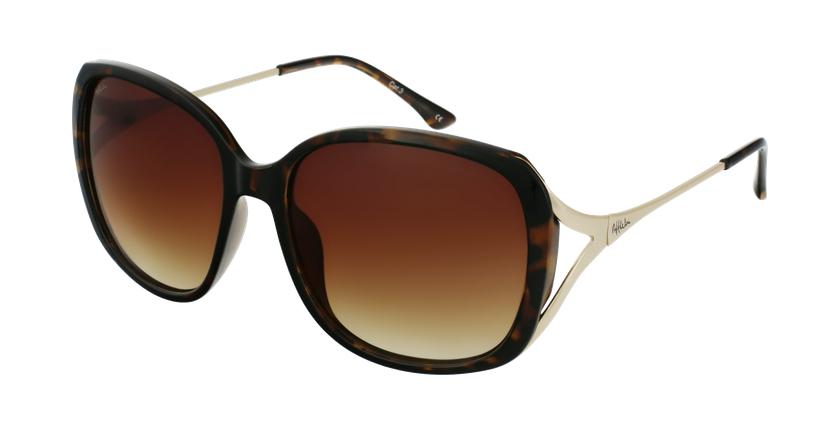 Gafas de sol mujer ROSALES carey/dorado - vue de 3/4