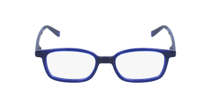 Gafas graduadas niños RFOP1 azul - vista de frente