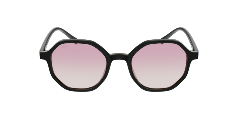 Gafas de sol mujer DELFIA negrovista de frente