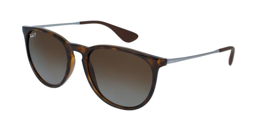 Gafas de sol ERIKA marrón - vue de 3/4