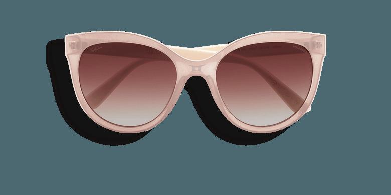 Gafas de sol mujer AMANA POLARIZED rosa/blanco