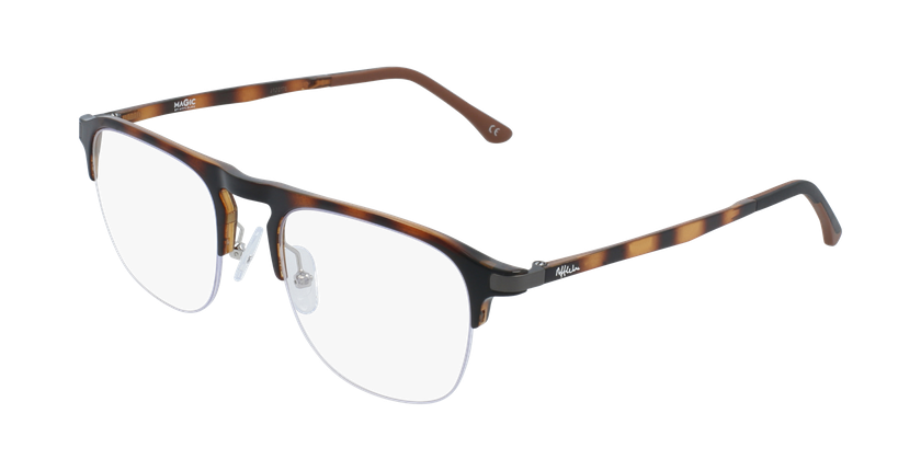 Gafas graduadas hombre MAGIC 57 BLUEBLOCK carey - vue de 3/4