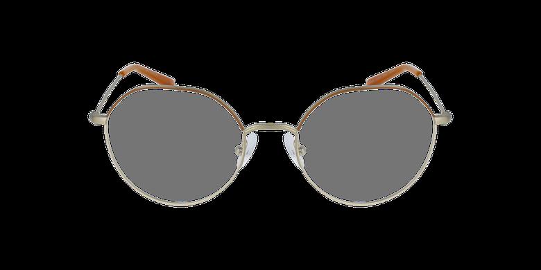 Gafas graduadas mujer ANAELLE marrón/dorado