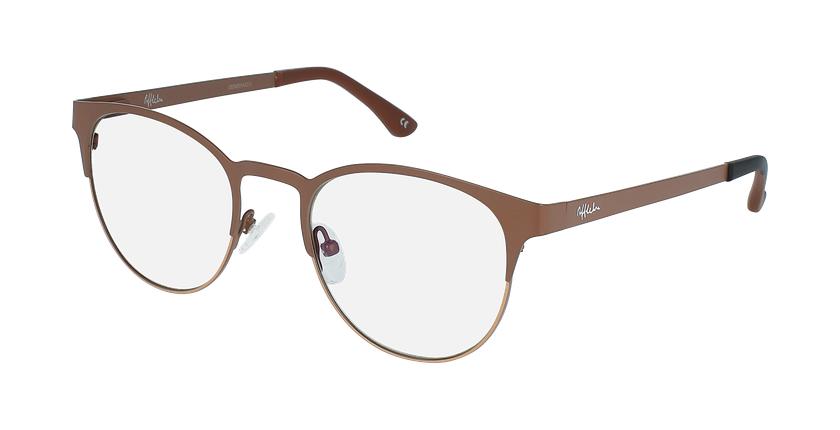 Gafas graduadas mujer MAGIC 44 BLUEBLOCK marrón/beige - vue de 3/4