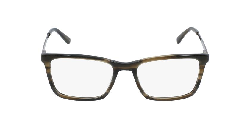 Gafas graduadas hombre MARC marrón - vista de frente