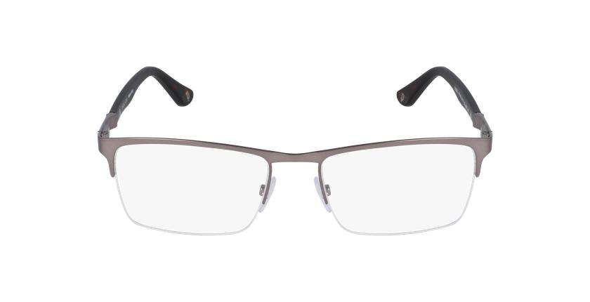Gafas graduadas hombre VPL465 plateado/negro - vista de frente