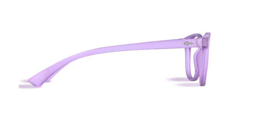 Gafas graduadas BLUE BLOCK UNISEX morado - vista de lado