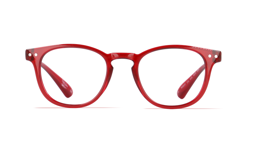 Gafas graduadas niños BLUE BLOCK JUNIOR rojo - danio.store.product.image_view_face