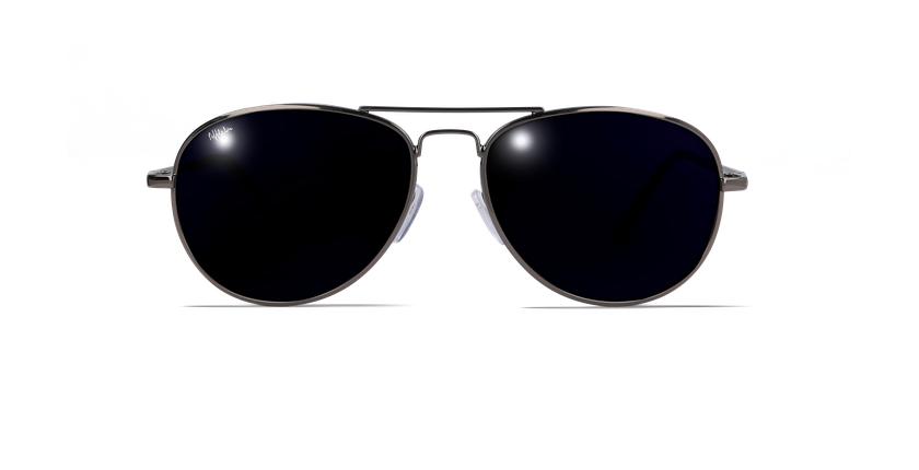 Gafas de sol hombre CADIZ negro - vista de frente