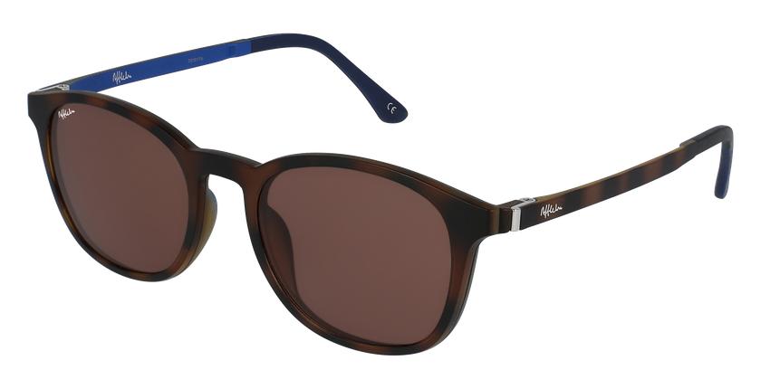 Gafas de sol hombre MAGIC 25 BLUE BLOCK carey/azul - vue de 3/4