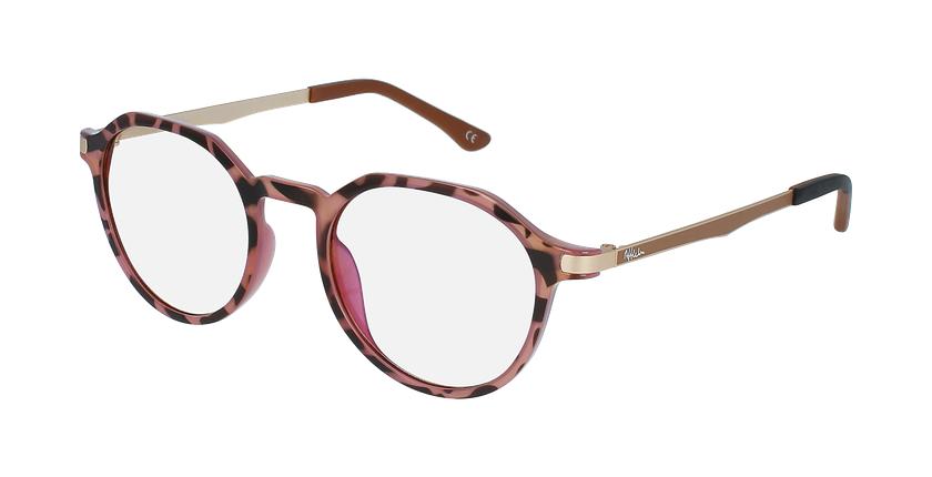 Gafas graduadas mujer MAGIC 39 BLUEBLOCK carey/rosa - vue de 3/4