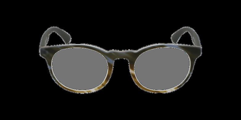 Gafas graduadas hombre EA 3156 verde/careyvista de frente
