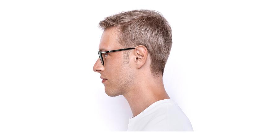 Gafas de sol hombre 0PO3210S negro - vista de lado