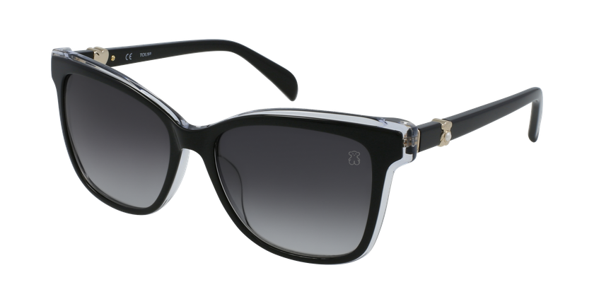 Gafas de sol mujer STOA27S negro - vue de 3/4