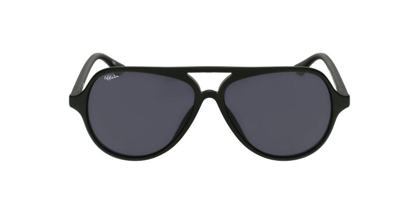 Gafas de sol niños RONDA negro - vista de frente