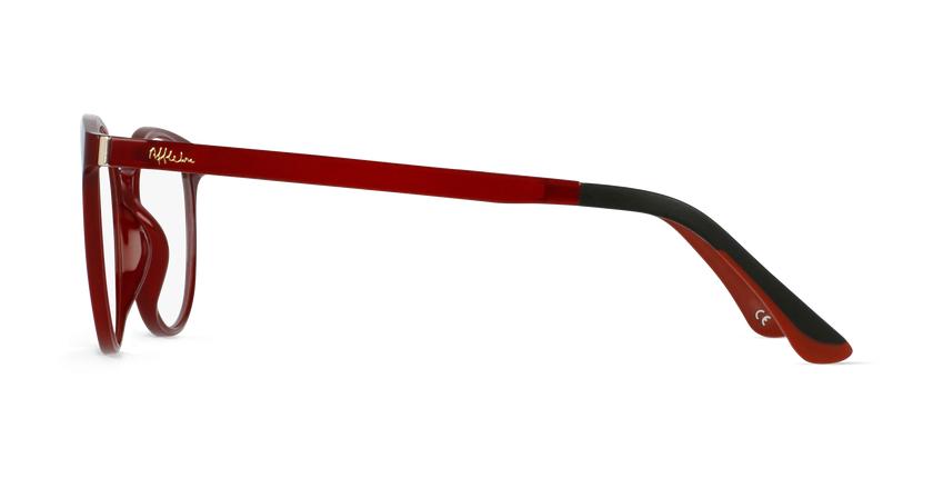 Gafas graduadas mujer MAGIC 36 BLUE BLOCK rojo - vista de lado