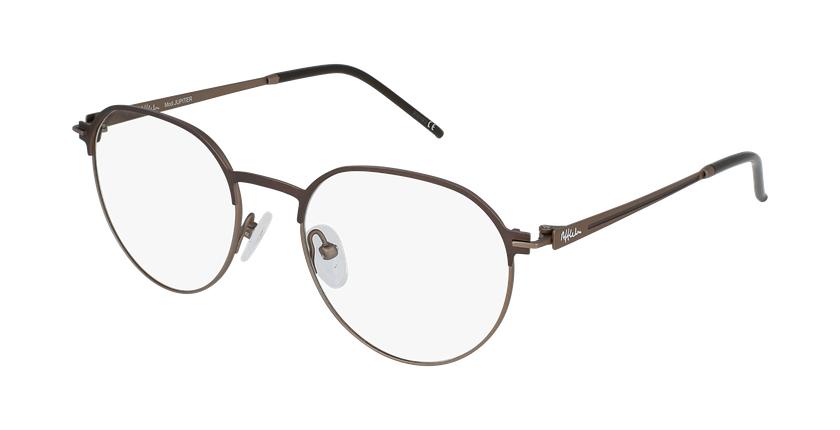 Gafas graduadas hombre JUPITER marrón - vue de 3/4