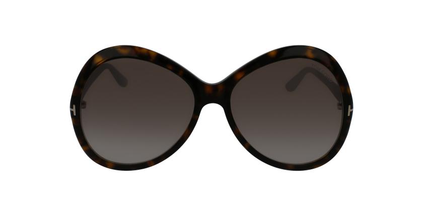 Gafas de sol mujer ROSE marrón - vista de frente