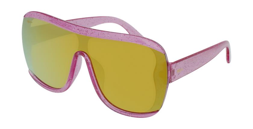 Gafas de sol niños LORETA - NIÑOS rosa - vue de 3/4
