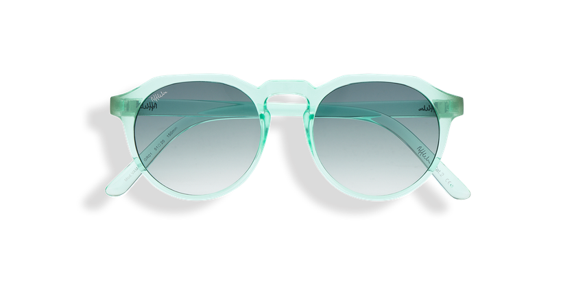 Gafas de sol VAMOS verde - vista de frente