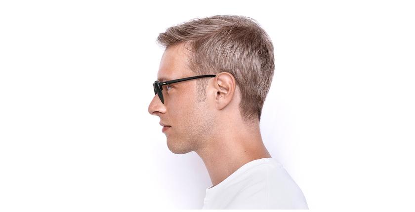 Gafas de sol CLUBROUND marrón - vista de lado