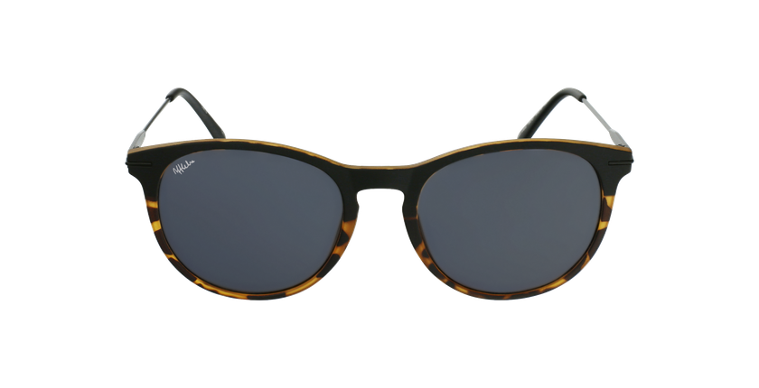 Gafas de sol hombre ARES negro/carey - vista de frente