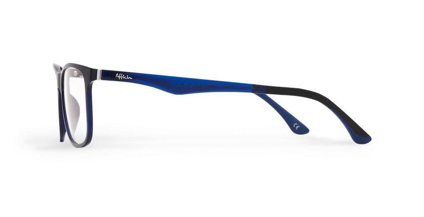Gafas de sol hombre MAGIC 24 BLUE BLOCK azul - vista de lado