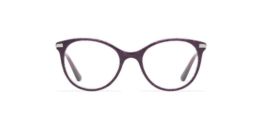 Gafas graduadas niños ALINE morado - vista de frente