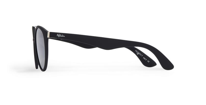 Gafas de sol hombre ANDRES POLARIZED negro - vista de lado