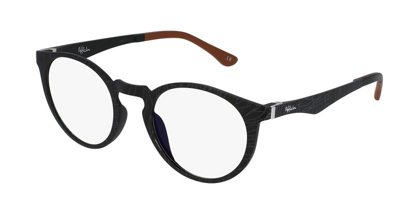 Gafas graduadas MAGIC 35 BLUE BLOCK negro - vue de 3/4