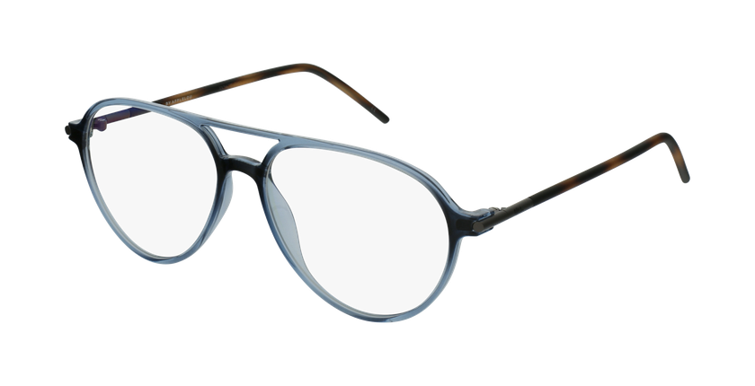 Gafas graduadas MAGIC 75 azul/carey - vue de 3/4