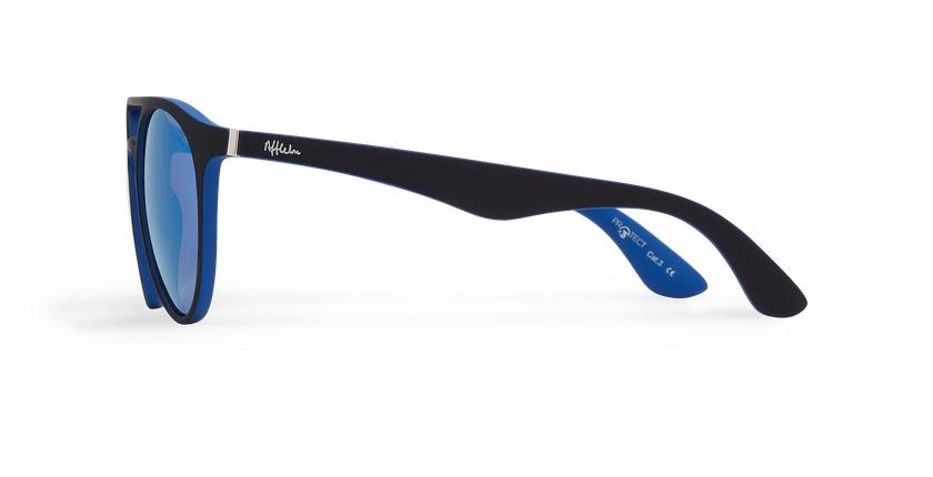 Gafas de sol LIONI POLARIZED negro/morado - vista de lado